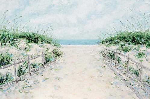 """Sandbridge Dunes 24""""x36"""""""