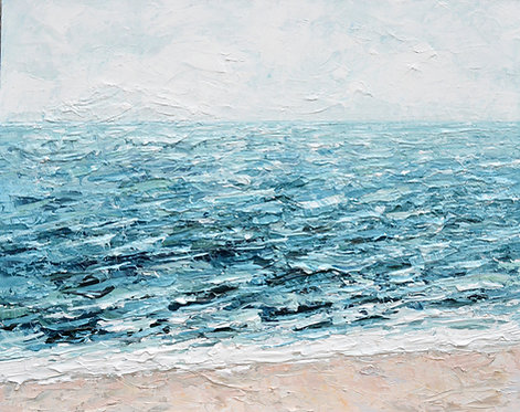 "Salt Water Bliss, 24""x30"""