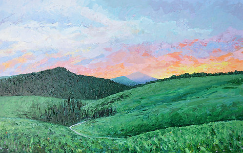 "Lamar Valley, Yellowstone, 30""x48"""