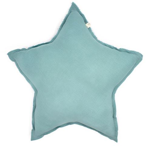 Coussin étoile Aqua