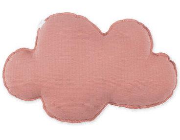 Coussin nuage vieux rose