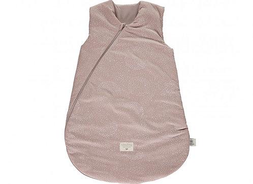 Nobodinoz -  Gigoteuse white bubble/misty pink 0-6m (L&N)