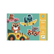 Puzzle duo voiture