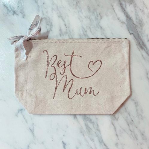 Pochette Best Mum Or Rose