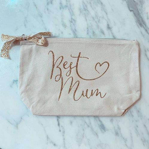 Pochette Best Mum Or