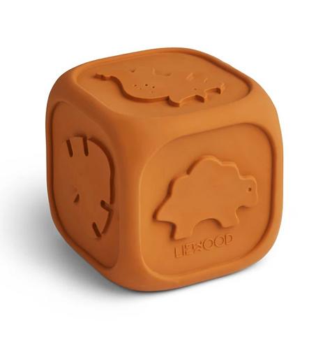 Cube d'éveil moutarde