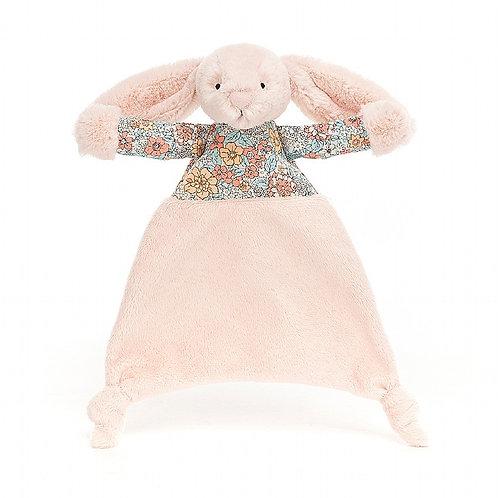 Jellycat - Doudou lange lapin blush blossom