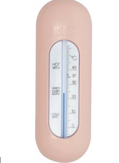 Thermomètre de bain rose