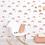 Thumbnail: Papier peint - Arc-en-ciel rose
