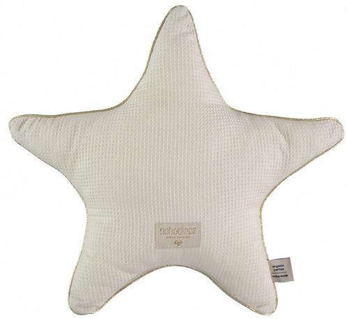 Nobodinoz - Coussin étoile natural