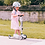 Thumbnail: Scoot and ride - Trotinette évolutive rose