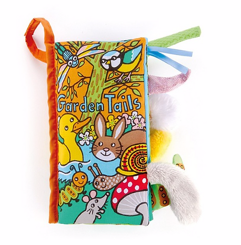Jellycat - Livre d'éveil Jardin