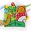 Thumbnail: Jellycat - Livre d'éveil Jardin