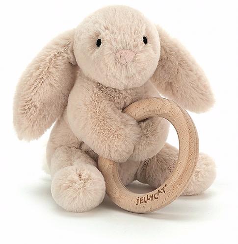 Jellycat - Hochet bunny (L&N)