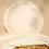 Thumbnail: Coussin rond Vera Eyelet Lace • natural bio