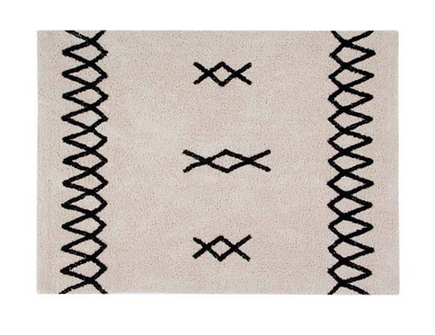 Lorena Canals - Washable Rug Atlas black