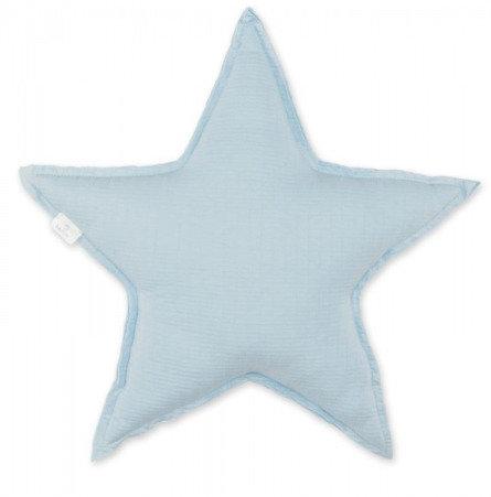 Coussin étoile bleu