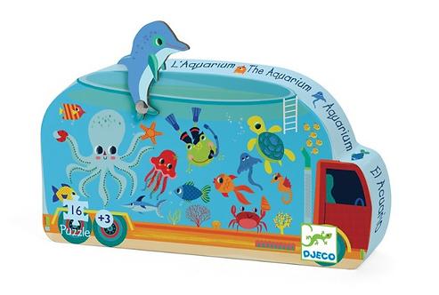 Puzzle 16 pces Aquarium