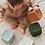 Thumbnail: Cube d'éveil moutarde
