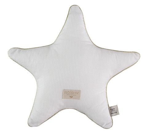 Nobodinoz - Coussin étoile white