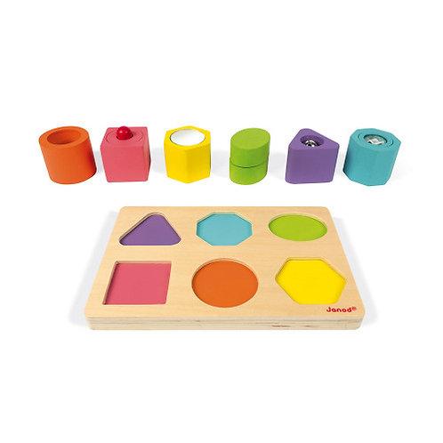 Janod - Puzzle sensoriel