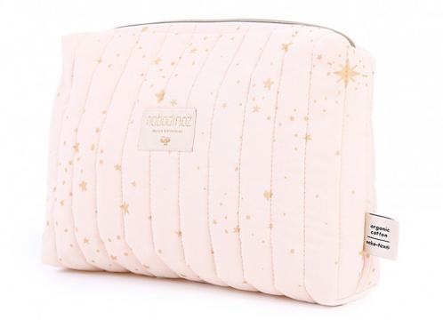 Nobodinoz - Trousse de toilette Gold stella/dream pink (E&F)