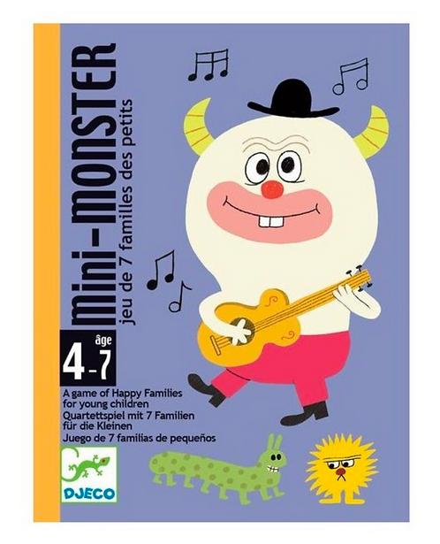 Jeu de cartes : mini monster