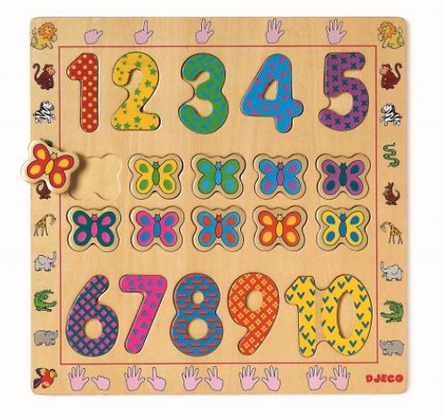 Puzzle éducatif -123