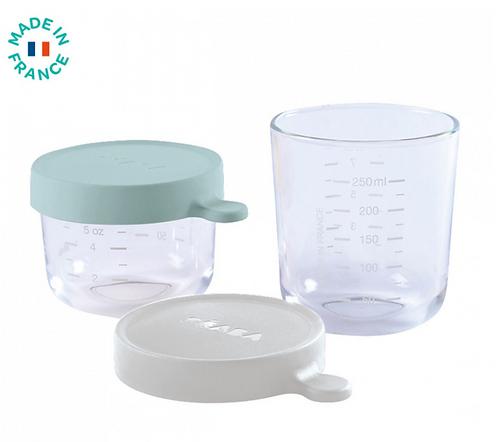 Béaba - Coffret 2 portions verre 150ml