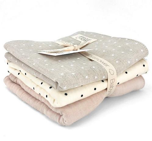 Babyshower -Lot de 3 serviettes (L&J)