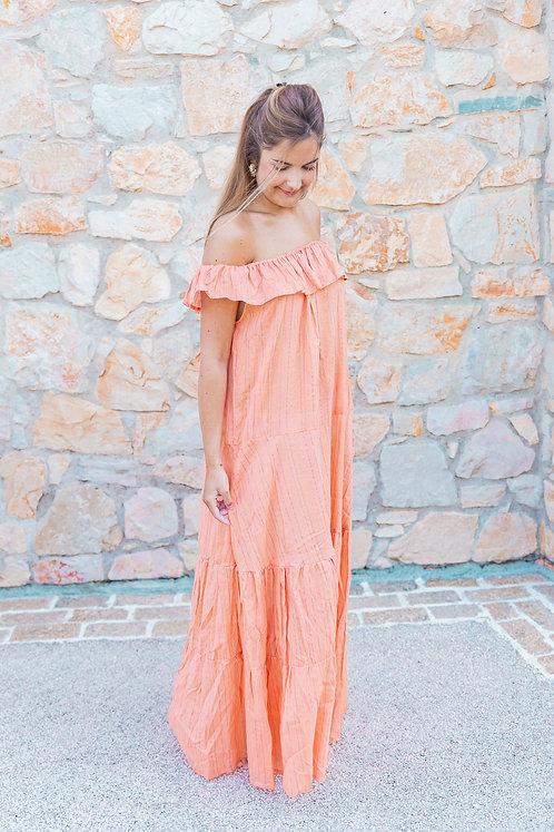 Robe imperata orange