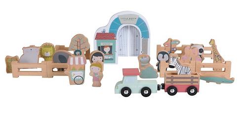 Little dutch - Blocs de Zoo pour circuit train