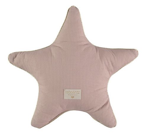 Nobodinoz - Coussin étoile misty pink