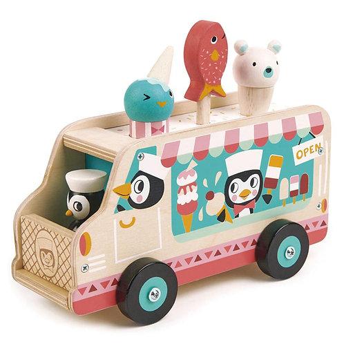 Chariot crème glacée