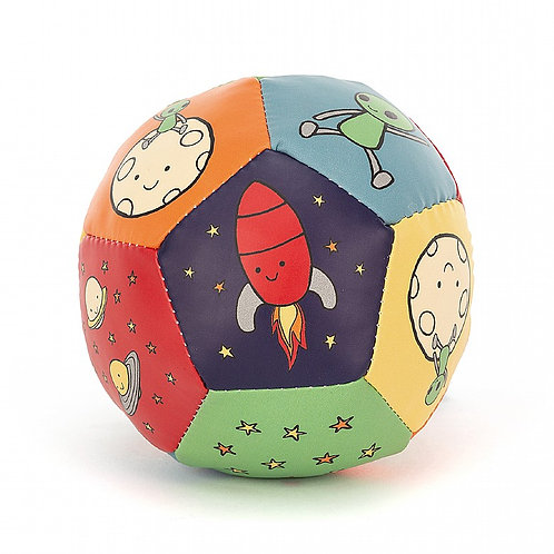 Jellycat - Balle sonore fusée