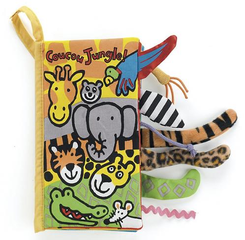 Jellycat - Livre d'éveil jungle (C&A)