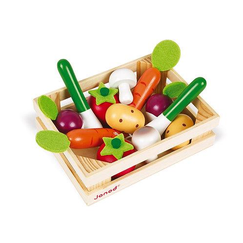 Janod - panier de légumes