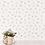Thumbnail: Papier peint - Fleurs aquarelles