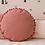 Thumbnail: Nobodinoz - Coussin rond dolce vita pink