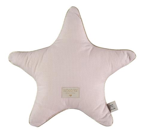 Nobodinoz - Coussin étoile dream pink