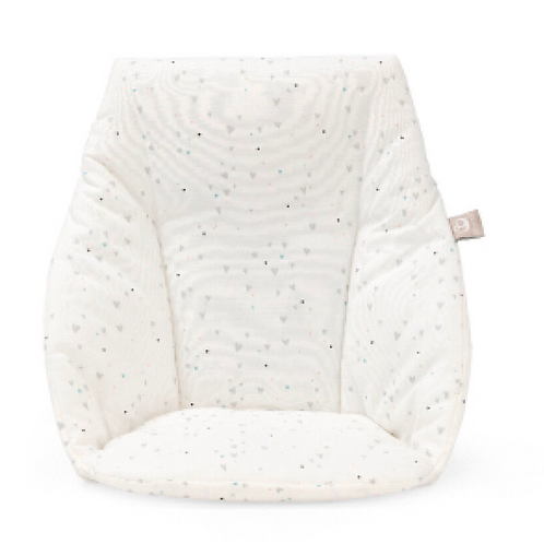 Stokke - Coussin blanc coeur Chaise haute Tripp Trapp