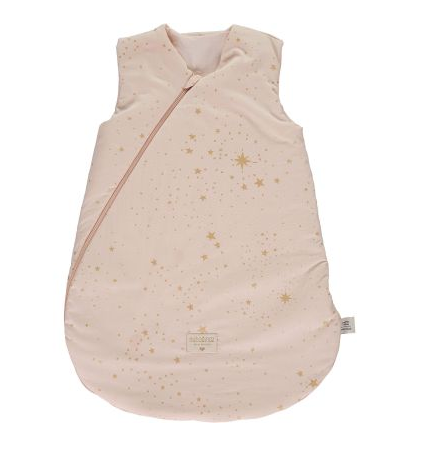 Nobodinoz -  Gigoteuse Gold stella/dream pink 0-6m