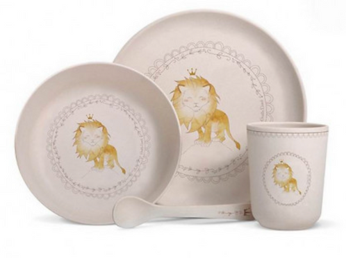 Coffret vaisselle lion