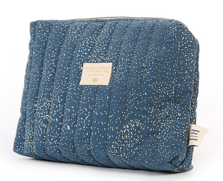 Nobodinoz - Trousse de toilette gold bubble/night blue