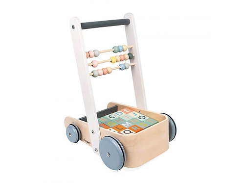 Janod - chariot à cubes