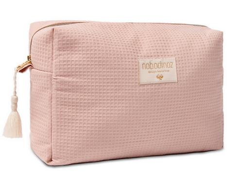 Nobodinoz - Trousse de toilette nid d'abeille Misty pink (L&N)