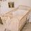 Thumbnail: Lit bébé en Rotin 120 x 60 cm