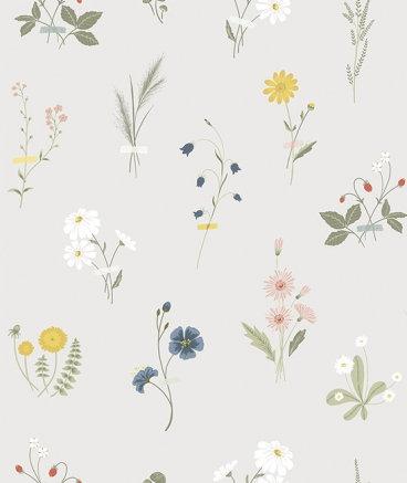 Papier peint - Fleurs des Champs