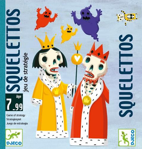 Jeu de cartes : squelettos