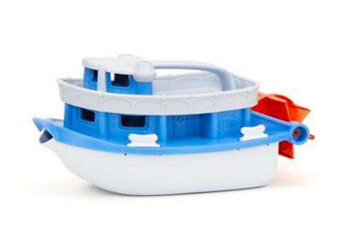 Green toys - bateau à roues